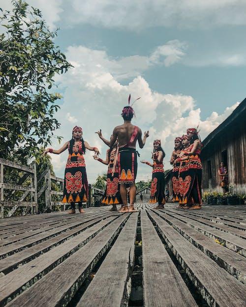 傳統, 傳統服飾, 儀式, 印尼 的 免費圖庫相片