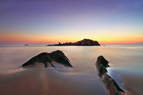 Δωρεάν στοκ φωτογραφιών με άμμος, Ανατολή ηλίου, αντανάκλαση, απόγευμα