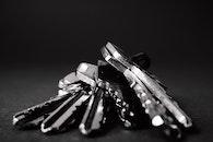 dark, metal, keys