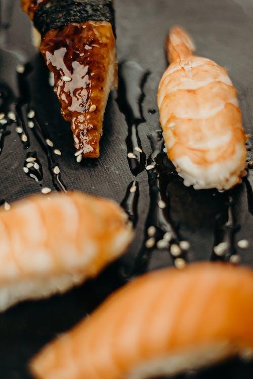Δωρεάν στοκ φωτογραφιών με sashimi, yummy, ασιατικό φαγητό, γαρίδα