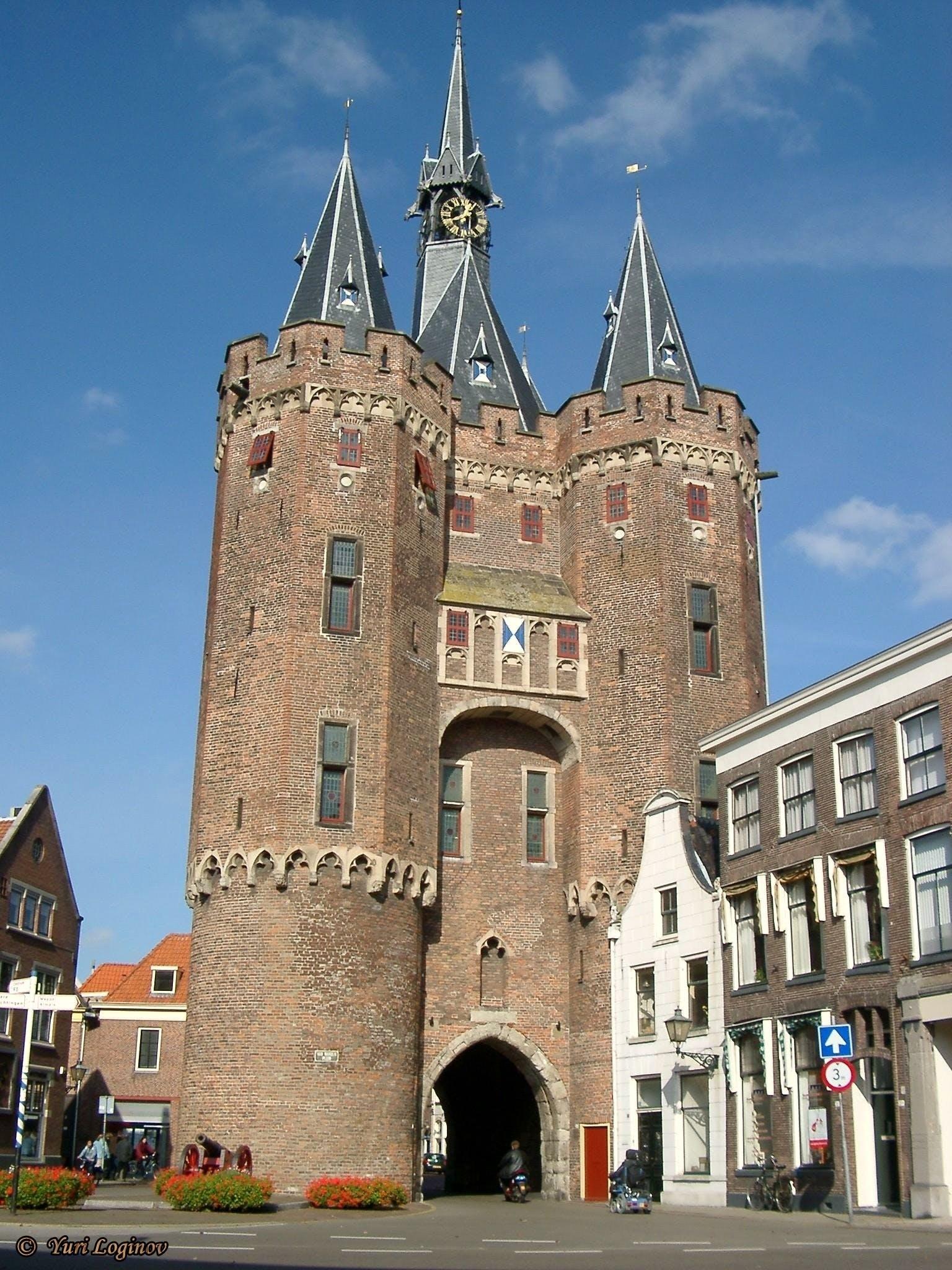 Free stock photo of netherlands, Nederland, zwolle, Sassenpoort