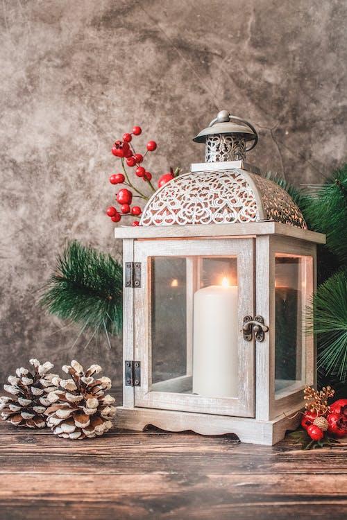 Foto d'estoc gratuïta de baies, canelobre, decoració nadalenca, decorant