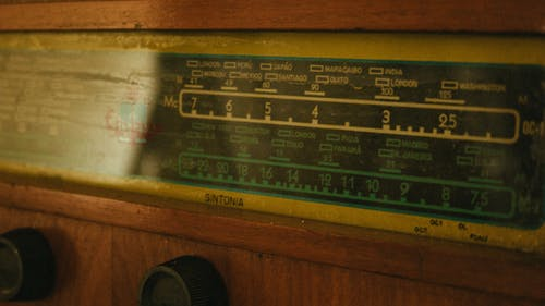 Closeup Photography of Radio Receiver