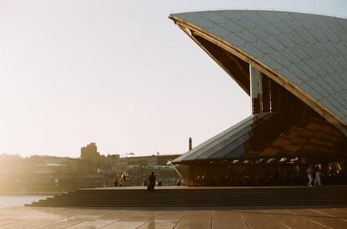 Foto stok gratis 35mm, Arsitektur, bangunan, film