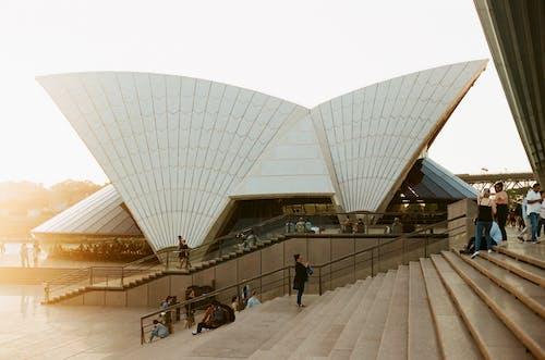Foto stok gratis 35mm, Arsitektur, cahaya, film