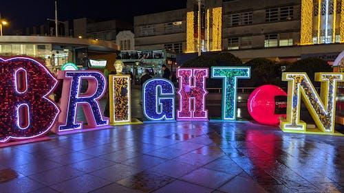 Imagine de stoc gratuită din brighton, noapte, nocturn