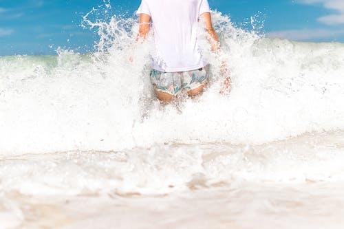 Gratis arkivbilde med alene, blå, bølge, bølger