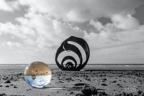 Free stock photo of ball, beach, blackpool, cleveleys