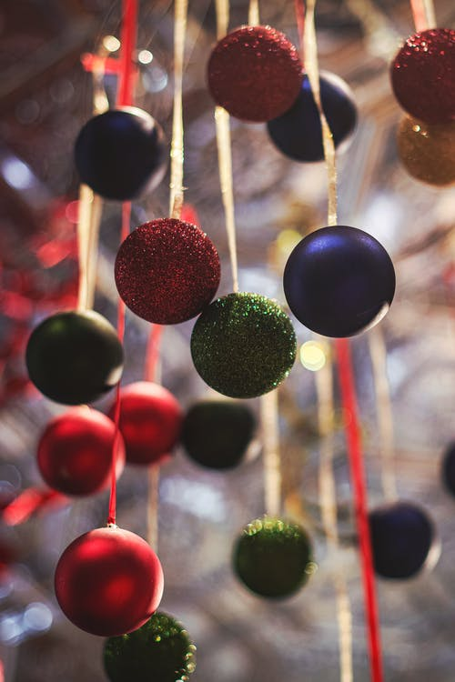 Shallow Focus Photo of Baubles