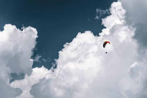 Photo of Person Paragliding