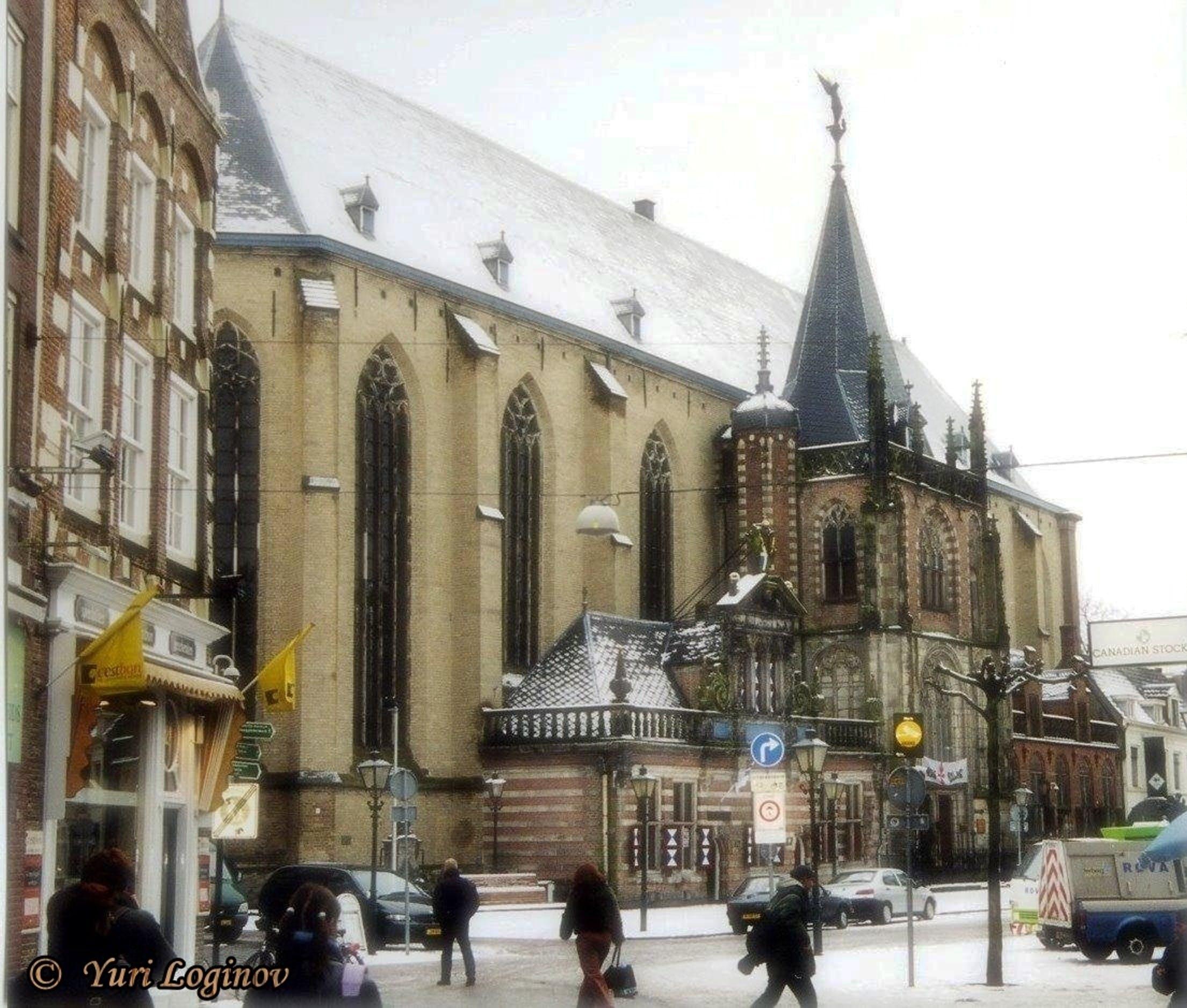 Free stock photo of netherlands, Nederland, zwolle, Sint-Michaëlkerk