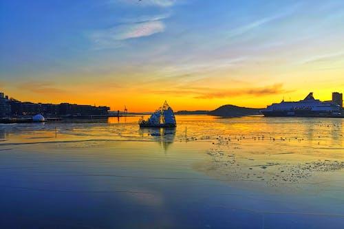 gün batımı, oslo içeren Ücretsiz stok fotoğraf