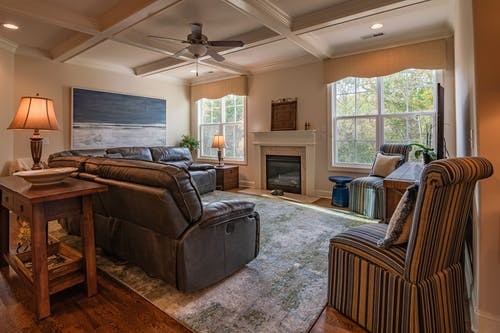Free stock photo of coach, couches, living room