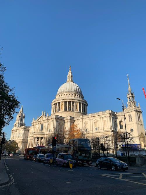 거리, 교통, 대성당, 런던의 무료 스톡 사진