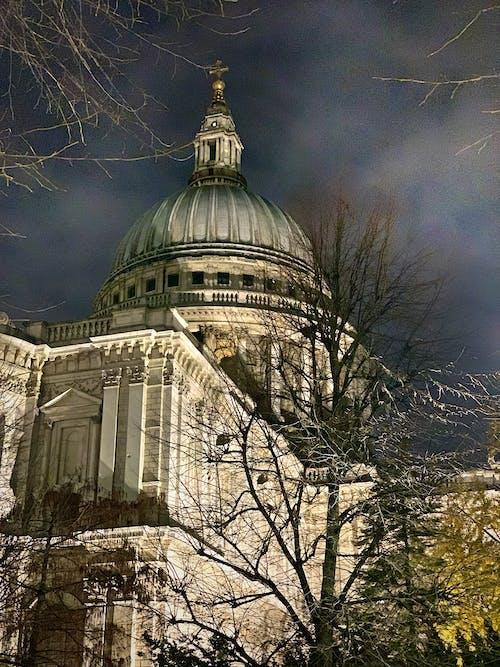 가을, 대성당, 런던, 밤의 무료 스톡 사진