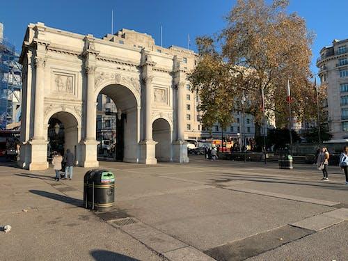 대리석 아치, 런던, 영국, 원호의 무료 스톡 사진