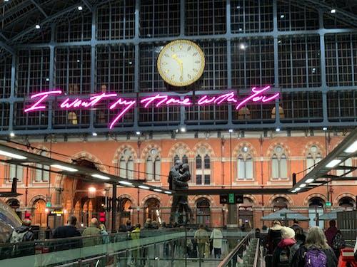 Foto profissional grátis de estação, Inglaterra, Londres, plataforma