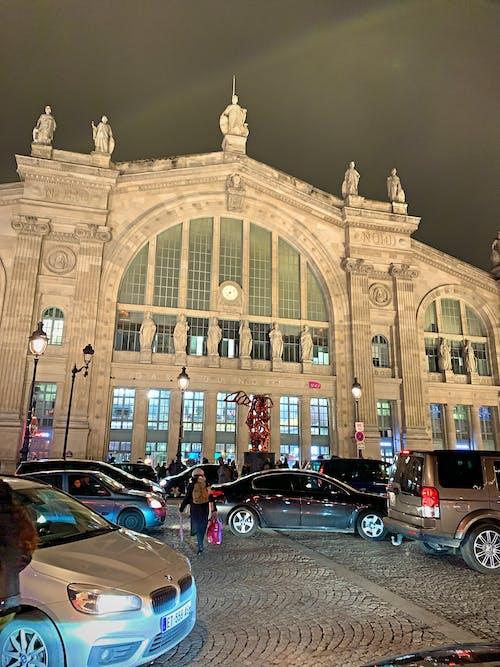 거리, 밤, 어두운, 역의 무료 스톡 사진