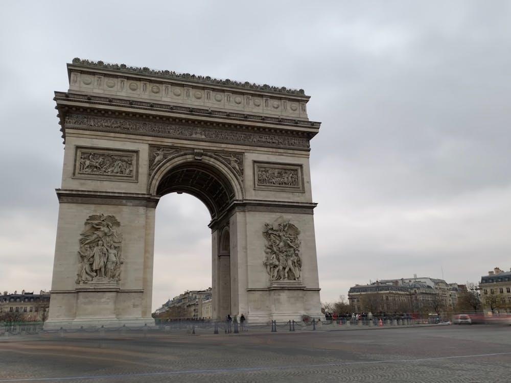 Arco do Triunfo, França, Paris