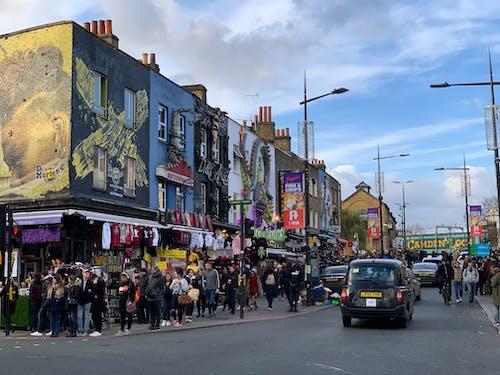 거리, 런던, 소도시, 영국의 무료 스톡 사진