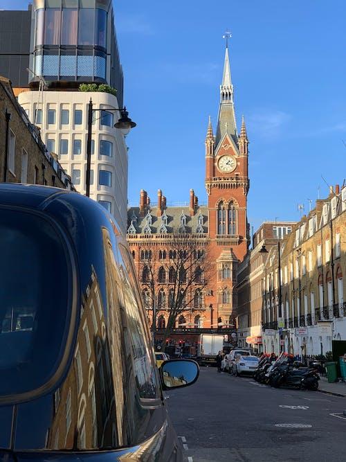 st pancras, 거리, 건축, 런던의 무료 스톡 사진