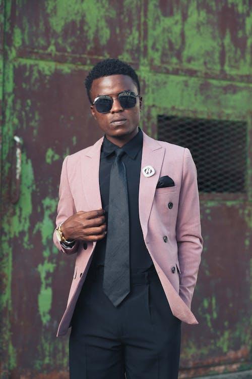 Kostenloses Stock Foto zu black male, fashion, formalen mantel, formelle kleidung