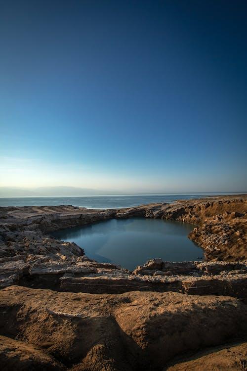 Ilmainen kuvapankkikuva tunnisteilla hämmästyttävä, Israel, järvi, kivikkoinen