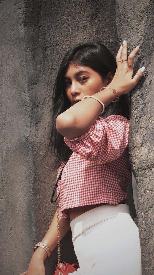 Darmowe zdjęcie z galerii z dziewczyna, fotografia plenerowa, model azjatycki