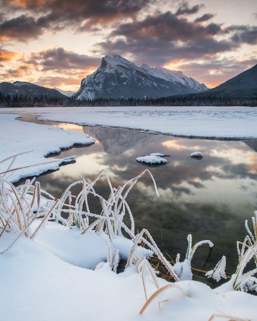 Ảnh lưu trữ miễn phí về Alberta, banff, băng giá, bầu trời