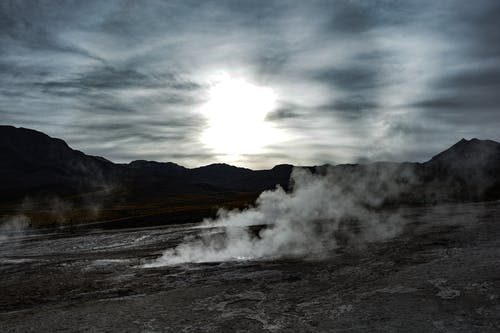 Free stock photo of geyser, nature