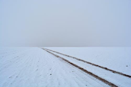Free stock photo of landscape, road, snow, white