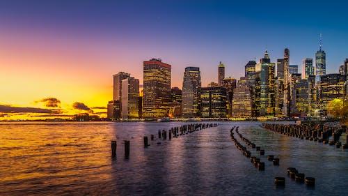 Foto profissional grátis de alvorecer, América, arquitetura, arranha-céu