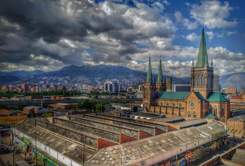 ciudad, HDR, paisaje, 哥伦比亚 的 免费素材图片