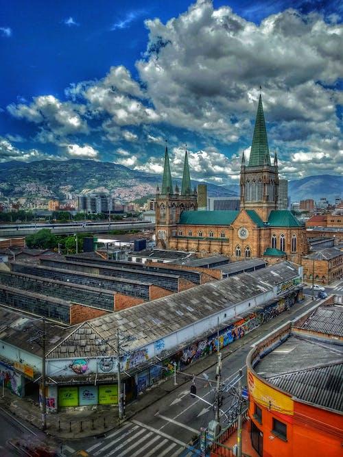 HDR, paisaje, 伊格萊西亞, 哥倫比亞 的 免費圖庫相片