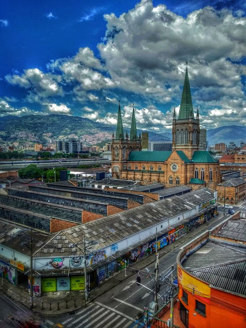 Imagine de stoc gratuită din columbia, HDR, iglesia, medellin