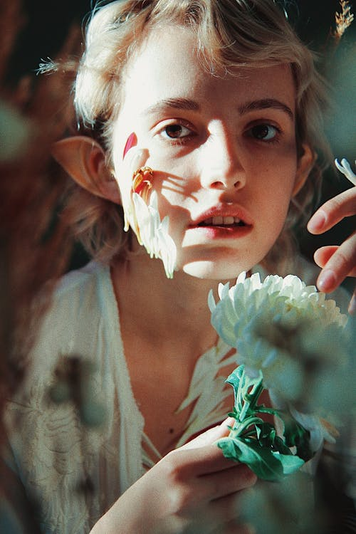 側面圖, 女人, 小精灵, 幻想 的 免费素材照片