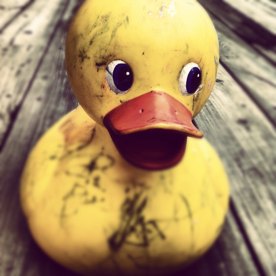 dirty, duck, horror