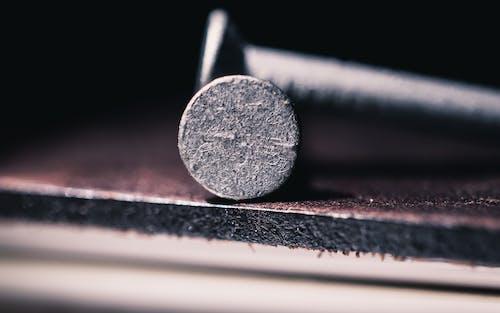 Immagine gratuita di acciaio, astratto, chiodo, macro