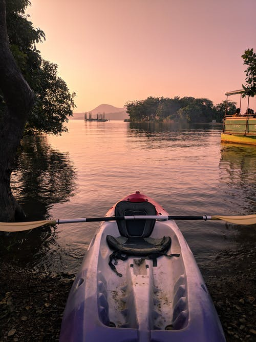 Kayak on Body of Water