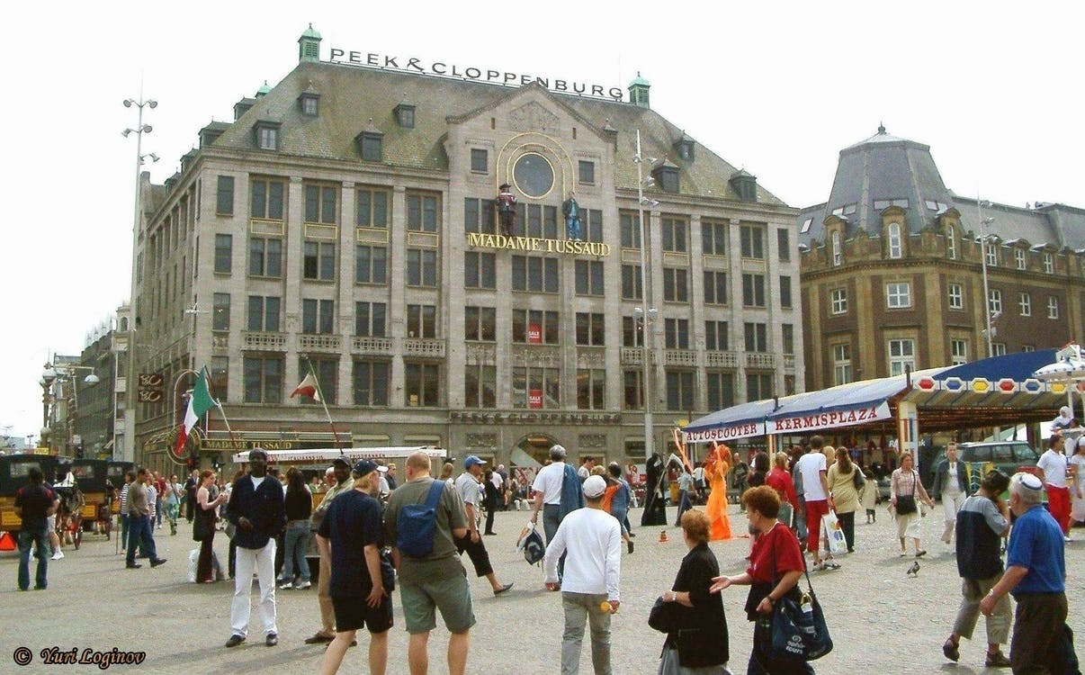 Free stock photo of amsterdam, Damplein, madame tussauds