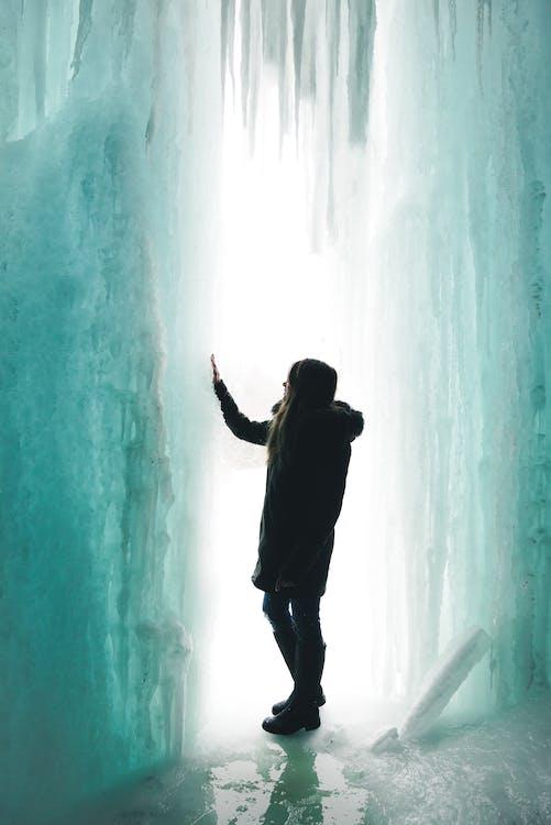aigua, congelant, congelant-se