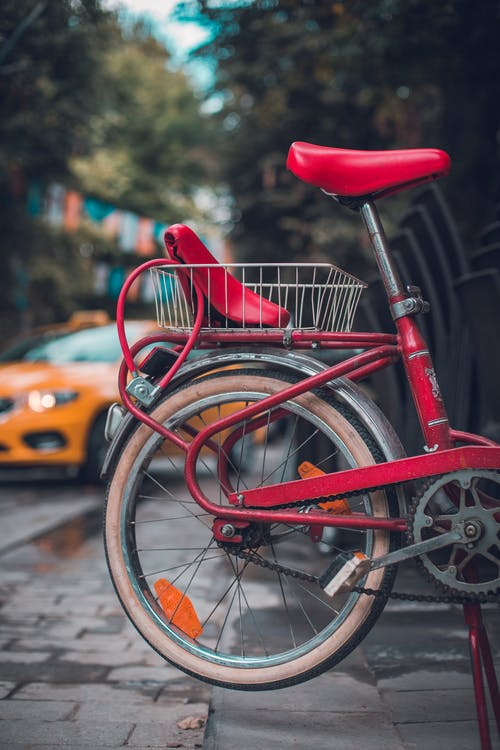 Free stock photo of best, bike, bike parking, colored art