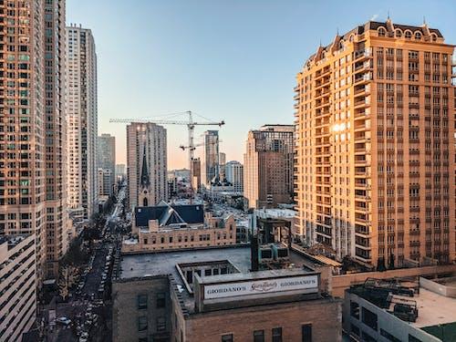 Gratis stockfoto met architectuur, bezet, chicago, commerciële gebouwen