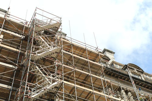 Free stock photo of building, scaffolding