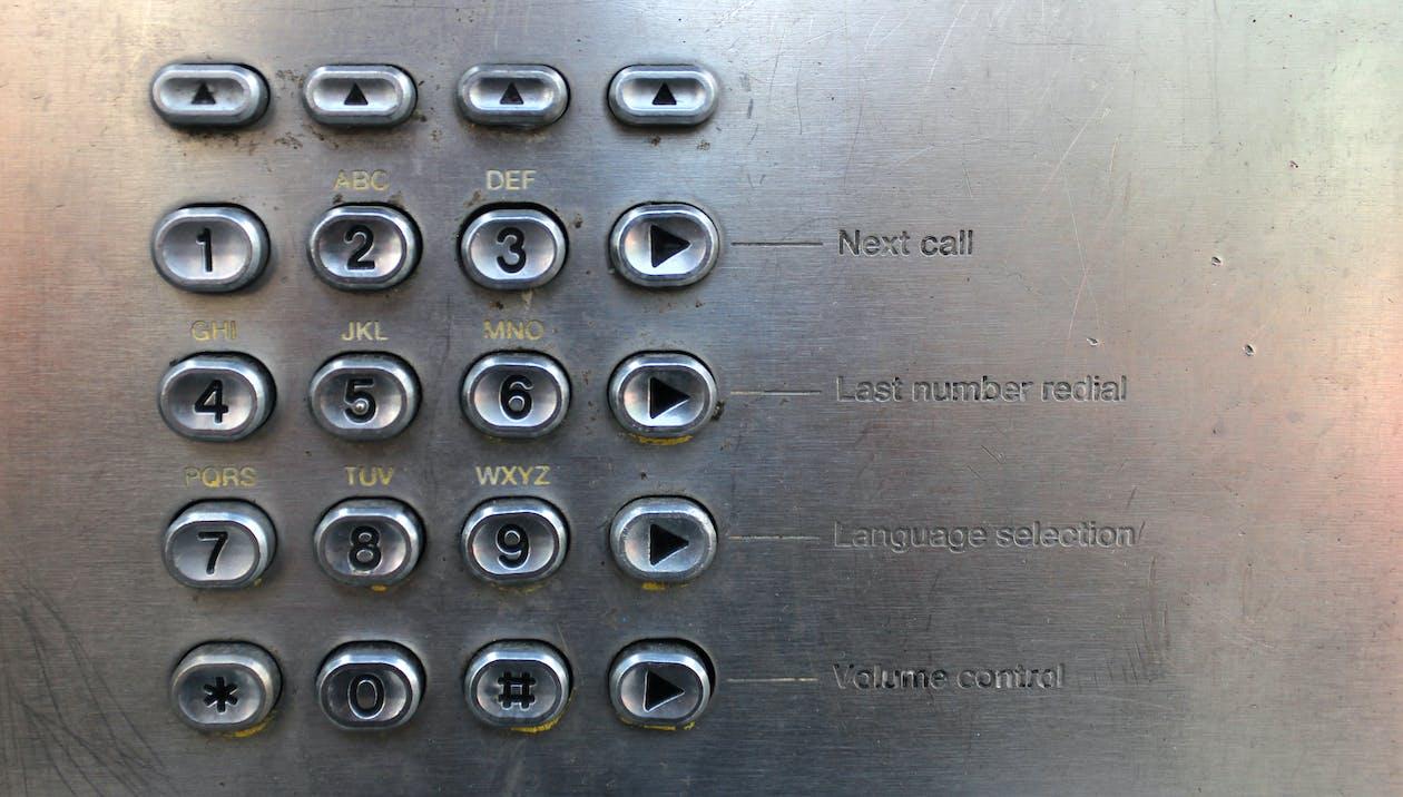 Безкоштовне стокове фото на тему «макрофотографія, телефон, телефонна будка»