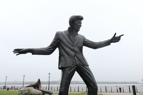 Free stock photo of Billy Fury, Liverpool, statue
