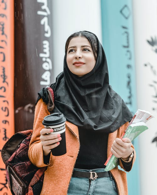 Shallow Focus Photo of Woman Wearing Black Hijab