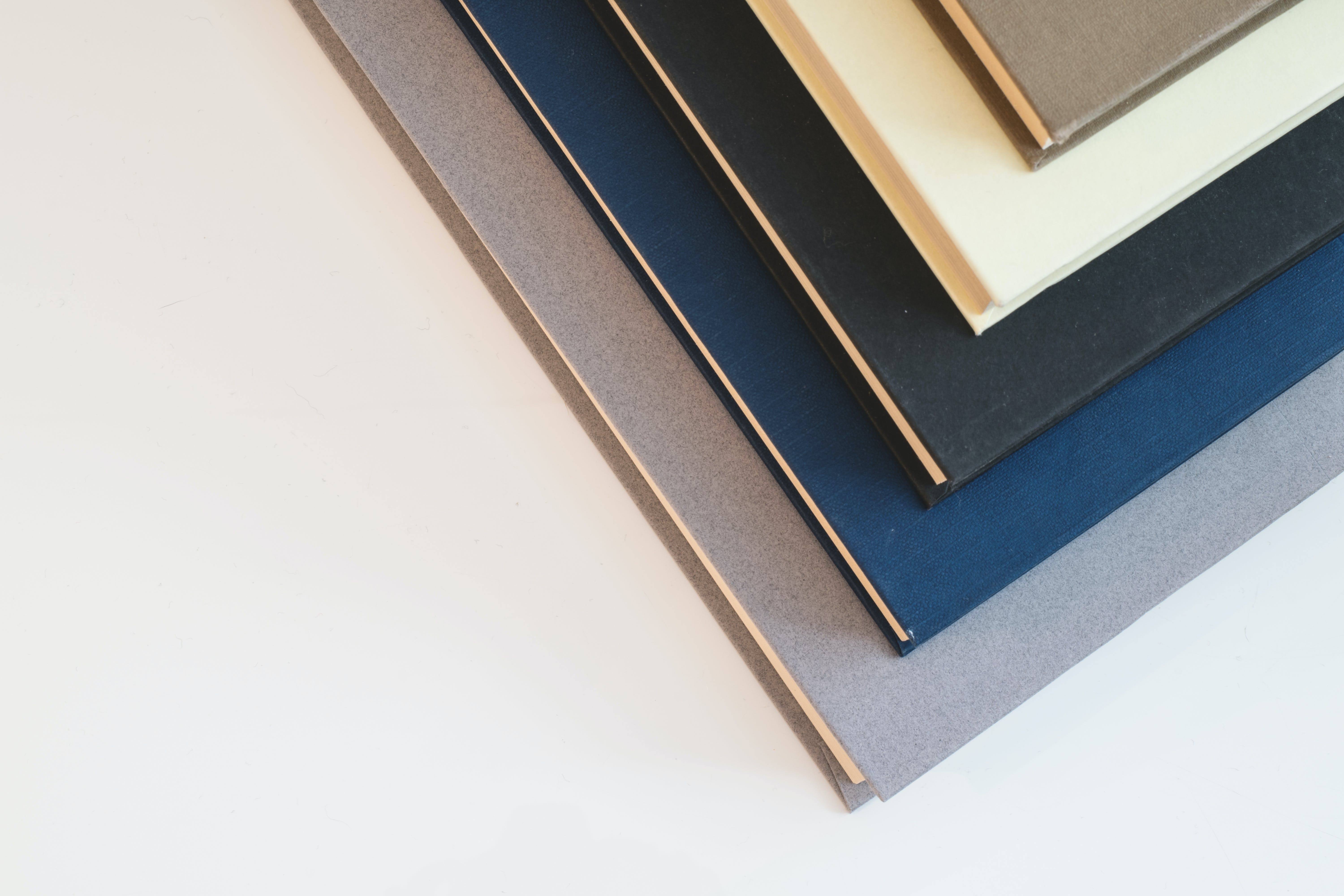 Assorted-color Books