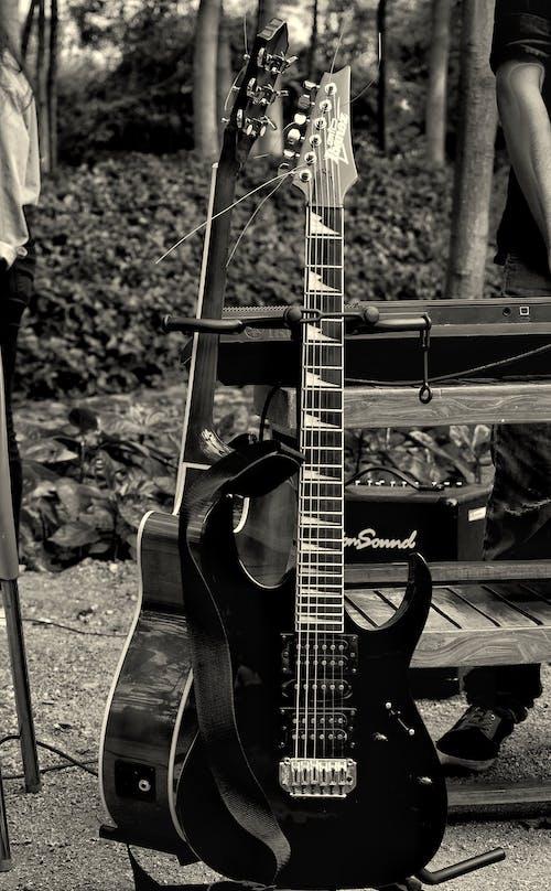 Základová fotografie zdarma na téma elektrické kytary, hudba, kytara, živá hudba