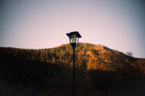 Turned-off Street Light